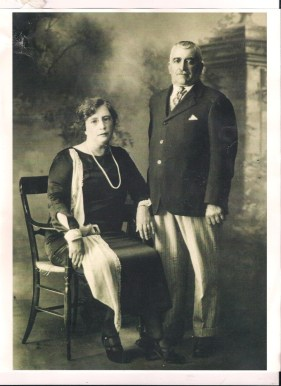 These are my great-grandparent's, Joe and Mary Rose. They found stillness by coming to America.